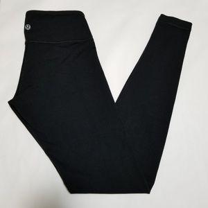 Lululemon Low Rise Leggings w/ Waistband Pocket
